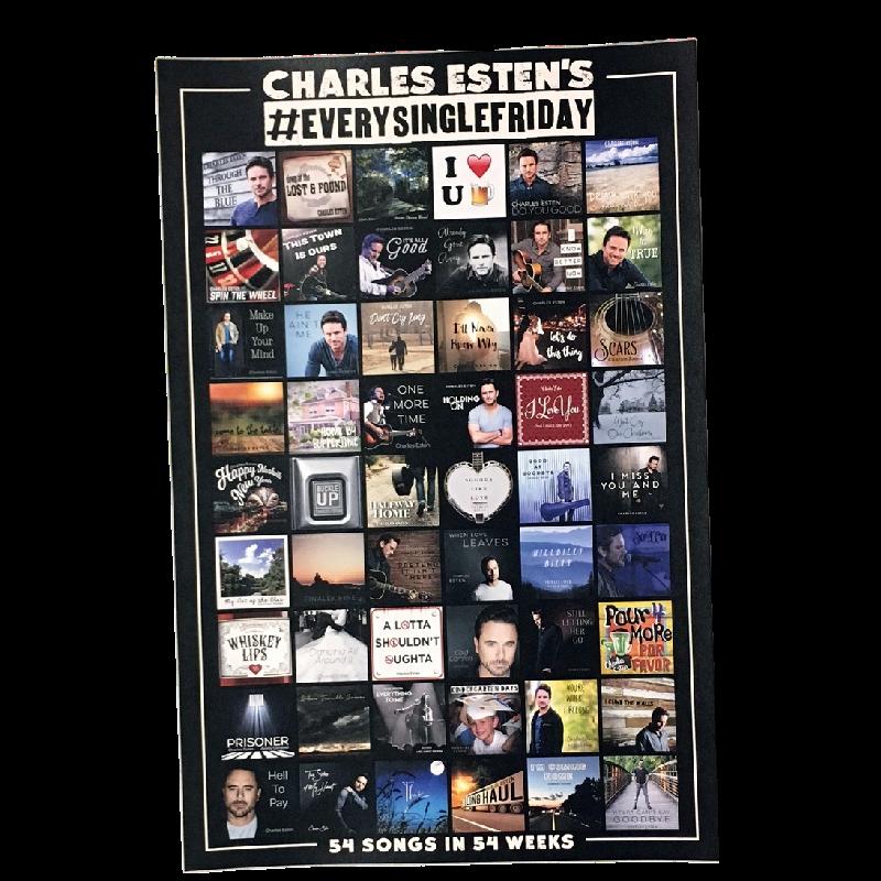 Charles Esten 54 Songs Poster