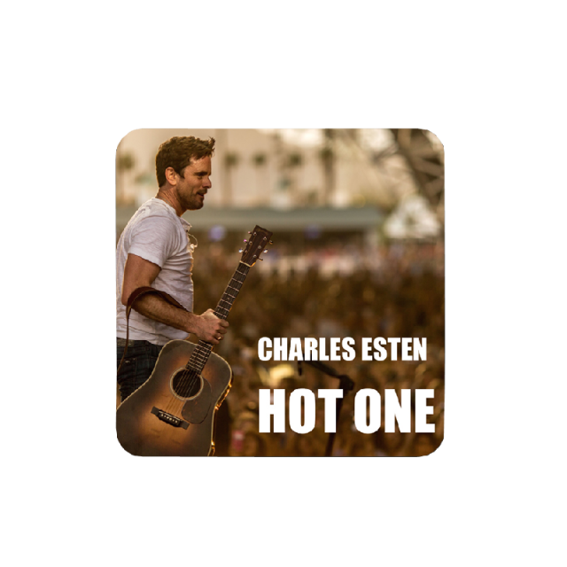 Charles Esten Song Title Sticker-Hot One