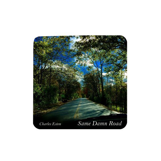 Charles Esten Song Title Sticker-Same Damn Road